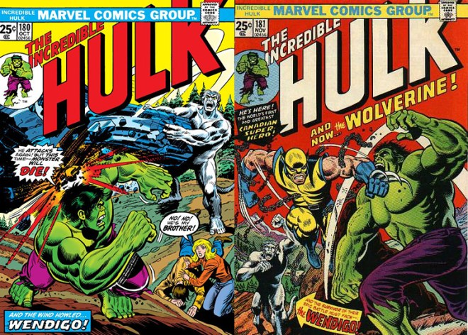 The Incredible Hulk Vol 180 181