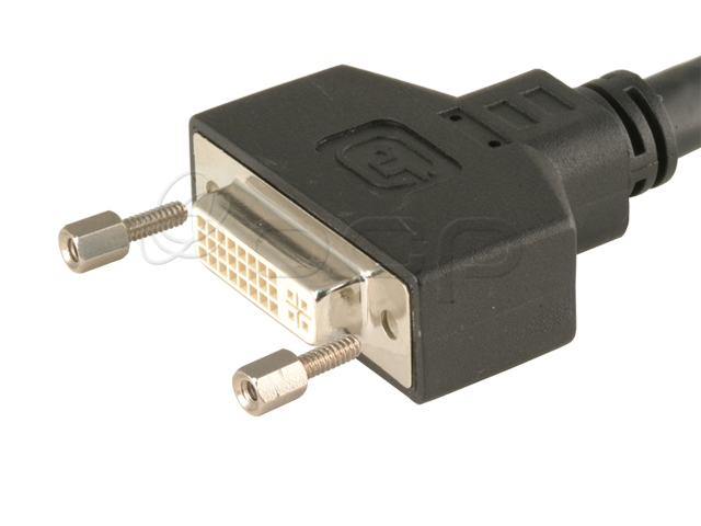 DVI-F Panel Mount Dual Link Cables