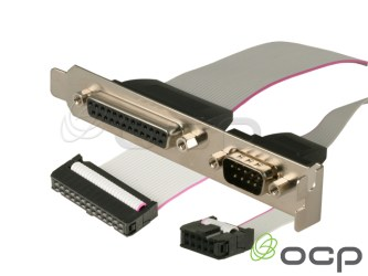Serial/Parallel Combo I/O Port DB9M/DB25F