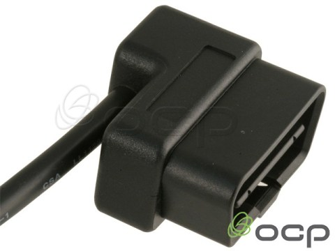 11760-03-302-09 - OBD II J1962 Cables Male Right Angle to Blunt end cut