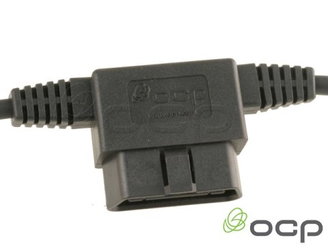 """11760-03-316-01 - OBDII Passthrough Male to 2 Female 36"""" & 18"""""""