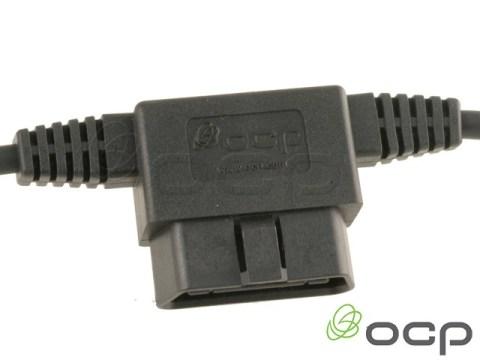 11760-03-316-09 - OBDII Passthrough to blunt cut 9C