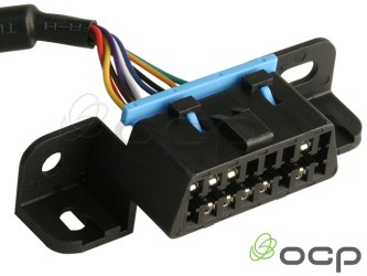 """OBDIII Male to 2X Female 36"""" & 18"""" Legs, """"Screw Mount"""" Style 9 Conductor"""