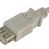 62-00132 - USB 2.0 Ext, A Male - A Female