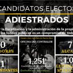 Infografia sobre Candidatos Electos Adiestrados - Ley 78