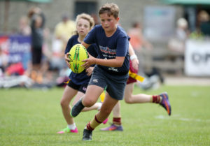 during the South West Youth Games at Simmons Park,