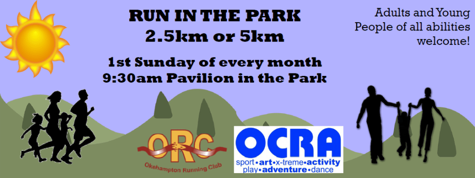 run in the park banner