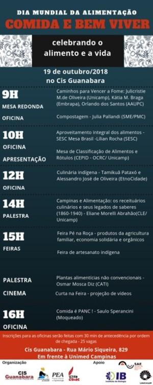 poster dia mundial da alimentacao cis guanabara