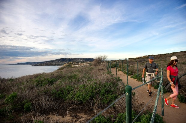 The CNLM Dana Point Preserve, a public trail system approximately three miles in length, links all of the conservation parks and public open space areas of the Headlands. It is adjacent to the Dana Point Nature Interpretive Center. (Photo by Cindy Yamanaka, Orange County Register/SCNG)