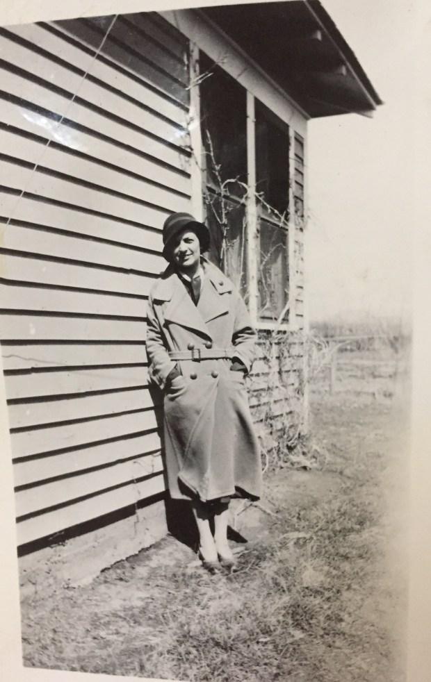 My grandmother, Elizabeth Jones
