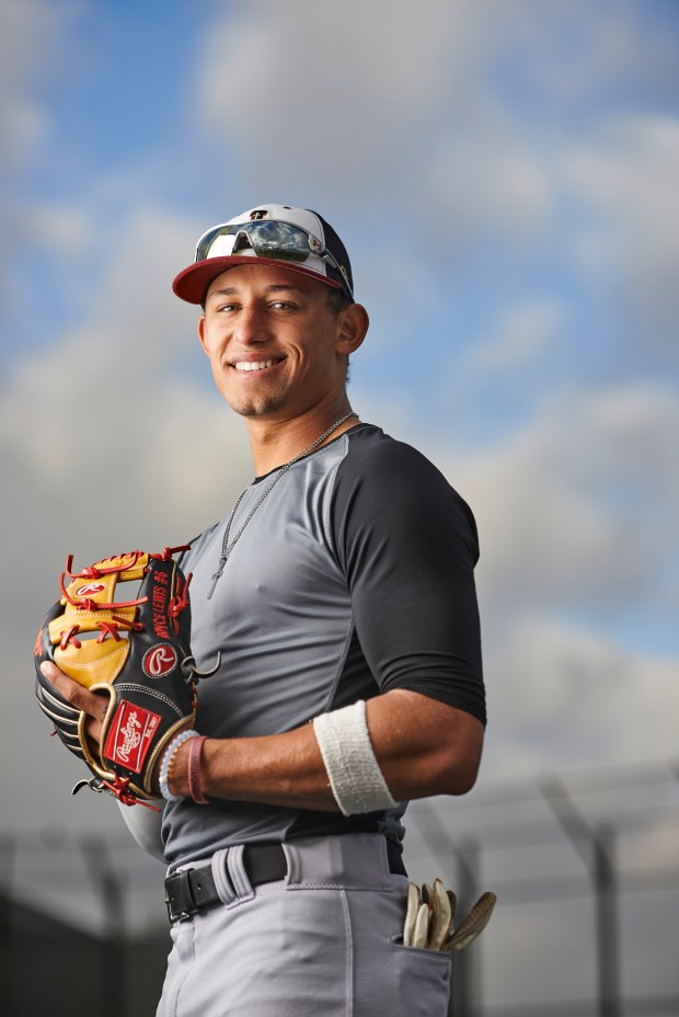 Royce Lewis is a JSerra Catholic High School baseball player who has led his team to a third consecutive championship in the Trinity League. Over the summer, he played in 2016 Under Armour All-American Game at Wrigley Field and the 2016 Perfect Game All-American Classic at Petco Park Ð being named MVP for both games. Photographed at JSerra Catholic High School in San Juan Capistrano on Wednesday, January 18, 2017. (Photo by Leonard Ortiz, Orange County Register/SCNG)