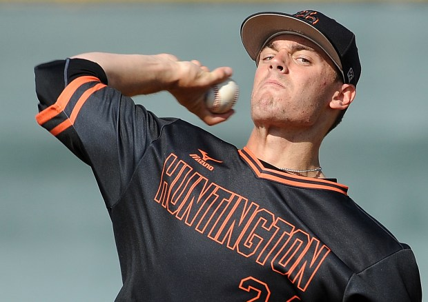 Hagen Danner is one of the top high school pitchers in the country. Danner will be one of five Orange County players who will be first round-draft picks in the MLB draft on June 12 (Photo by Bill Alkofer,Orange County Register/SCNG)