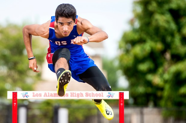 Jose Rubio is the Register's boys Track and Field athlete of the Year.  (Photo by Matt Masin, Orange County Register, SCNG)