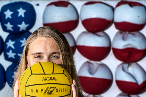 Laguna Beach's Aria Fischer is the All County Girls Athlete of the Year. (Photo by Matt Masin, Orange County Register, SCNG)