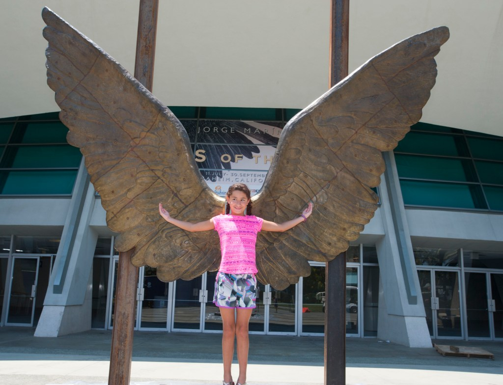 Mexican Artist Jorge Marins Wings Of The City Exhibit In Anaheim Lets You Be Part Of The Art