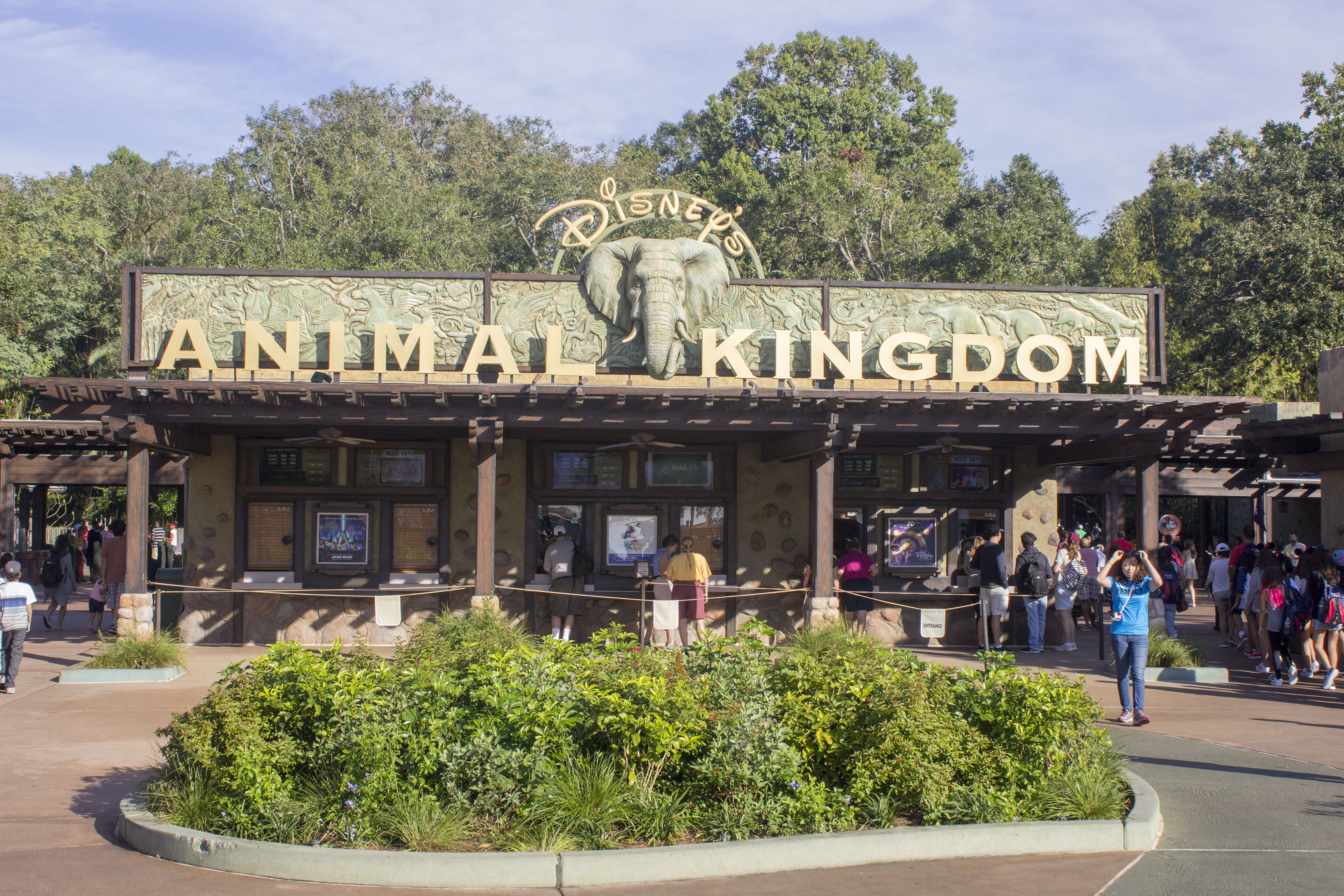A former Disney Imagineer s guide to Disney s Animal Kingdom     The entrance to Disney s Animal Kingdom at the Walt Disney World Resort    Photo by Mark Eades  Orange County Register SCNG