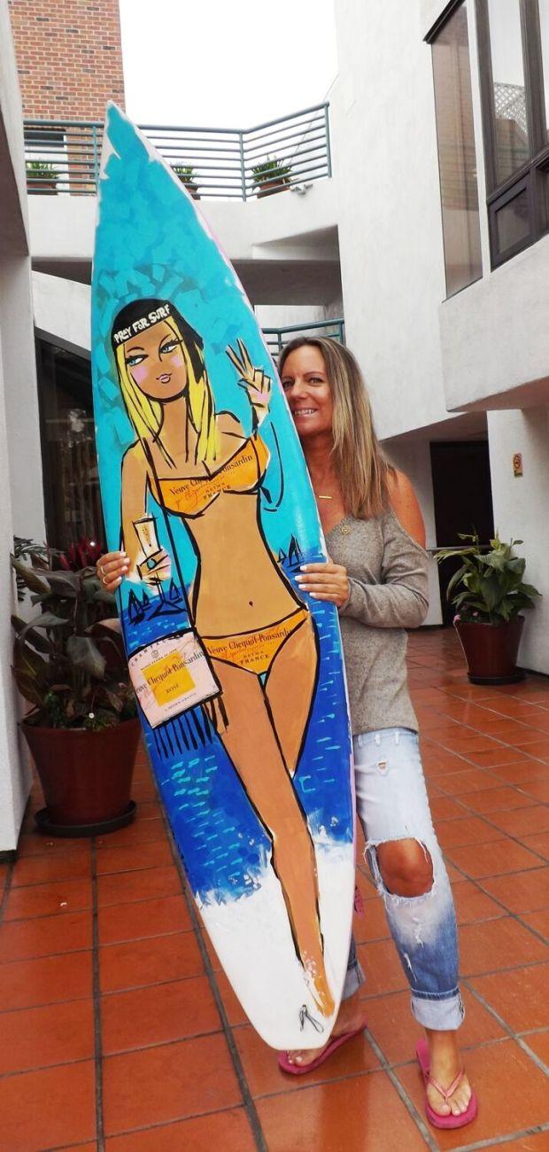 Laguna Beach artist Robin Hiers