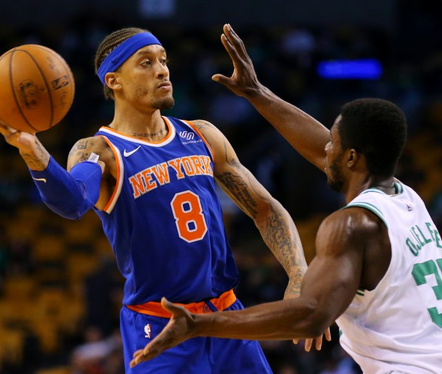 Former New York Knicks Forward Michael Beasley Left Will Join The Lakers On A One Year Contract According To Published Reports On Friday July