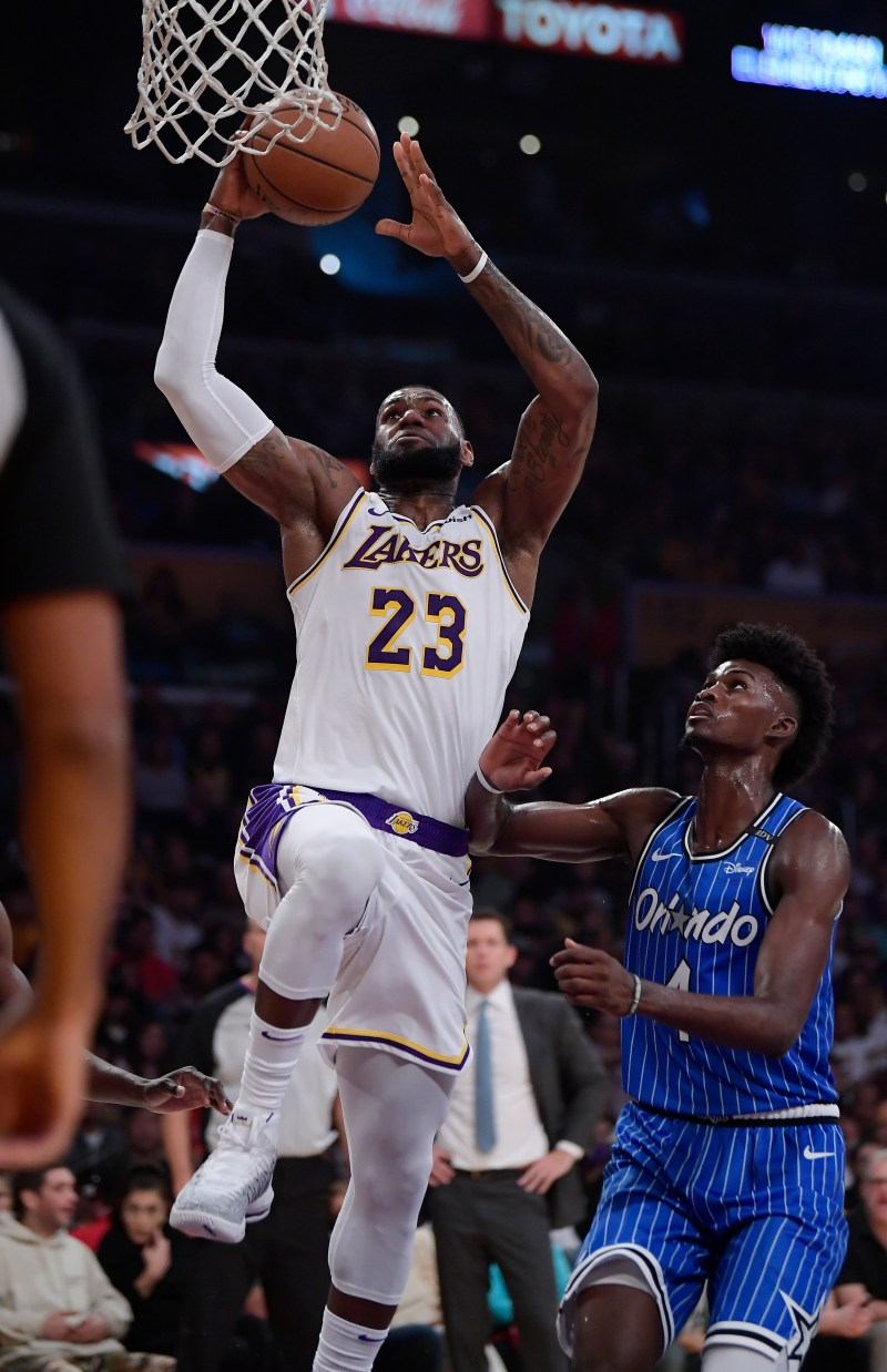 4dd22286cfb Lakers  comeback against Orlando Magic falls short at home – Website ...