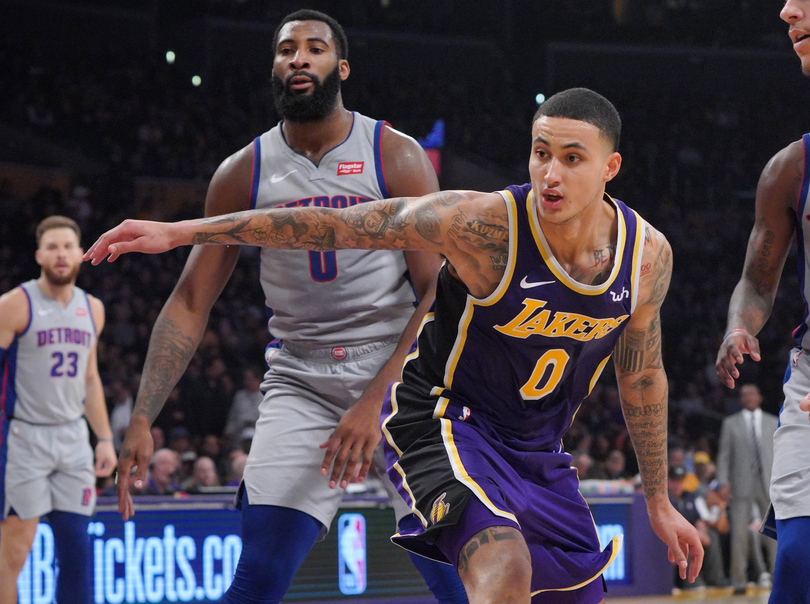 Kyle Kuzma Scores Career-high 41 Points As Lakers Blow Out