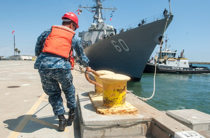 Navy gets go-ahead for $150 million plan to move ammunition wharf at Naval Weapons Station Seal Beach