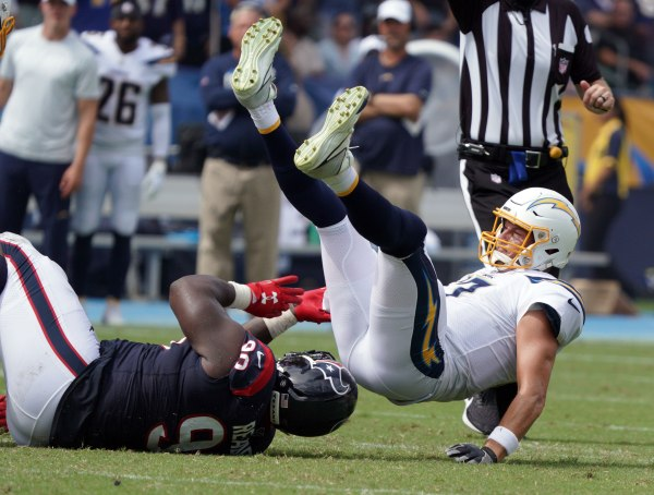 Chargers get caught and passed in home loss to Houston Texans