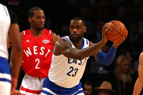LeBron James, Anthony Davis once thought they might lure Kawhi Leonard to the Lakers