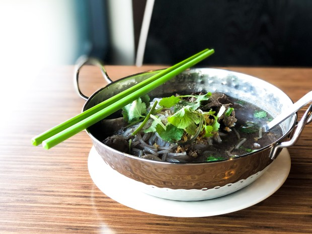 Thai boat noodle soup at Sumran in Westminster (Photo by Brad A. Johnson, Orange County Register/SCNG)