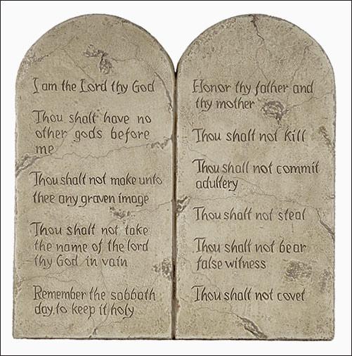 10 commandments # 25