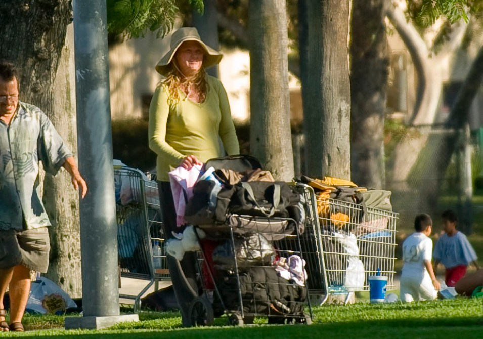 Anaheim Homeless Staying In Park Near Disneyland Orange County Register