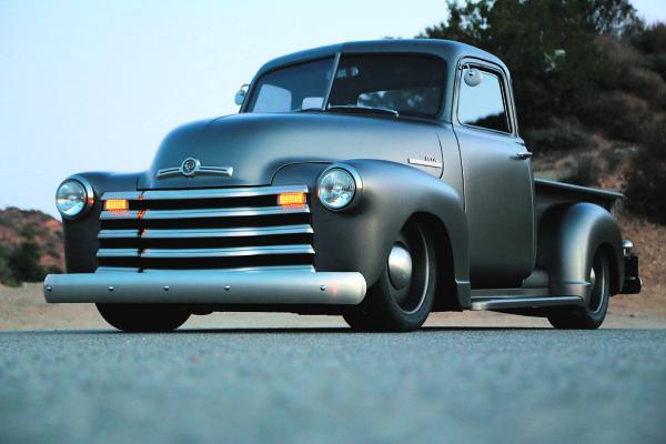 Restored 1950 Chevy farm truck blends modern technology