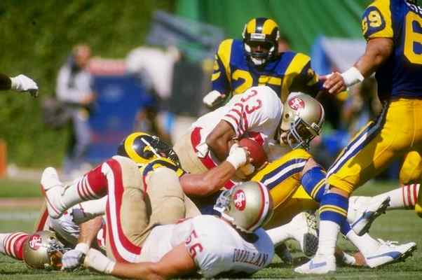 Image result for rams 49ers rivalry