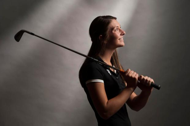 Troy's Beth Lillie has been selected by the Register as the Orange County girls golfer of the year. (Photo by Kevin Sullivan, Orange County Register/SCNG)