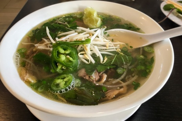 Pho Go is a new addition to Little Saigon and already one of the top pho specialists. (Photo by Brad A. Johnson, Orange County Register/SCNG)
