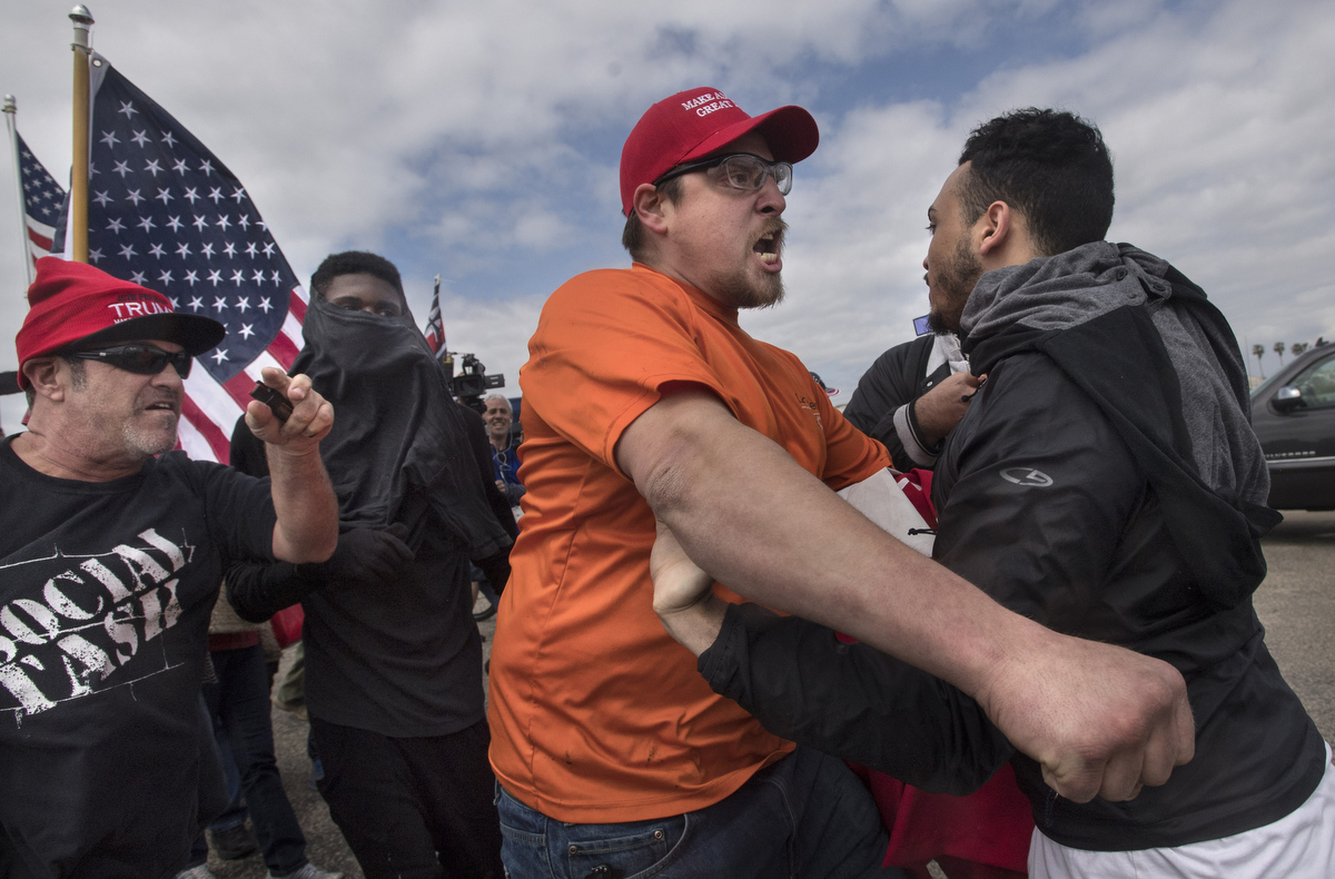 Image result for brawl at trump
