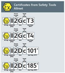 Certificate - Safety Tools Allmet