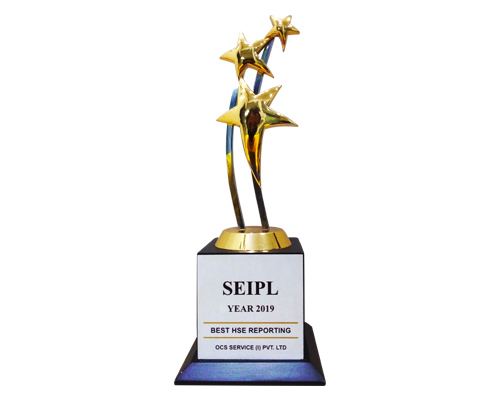 SEIPL Award 2019 for Best HSE Reporting