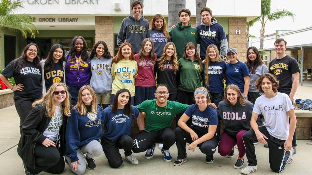 College bound Ontario Christian High School students.