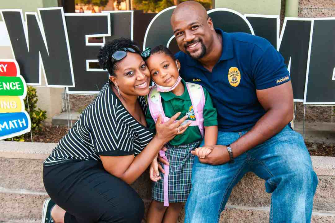 Parents and students are welcomed back to school