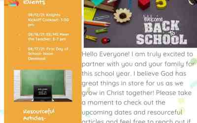 Counselor Tidbits August 2021