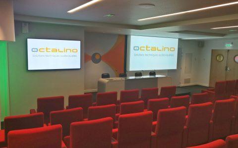Sonorisation et diffusion vidéo pour un centre de conférences
