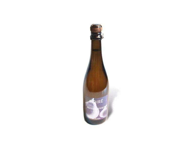 Eine Flasche Eric Bordelet Poiré Authentique