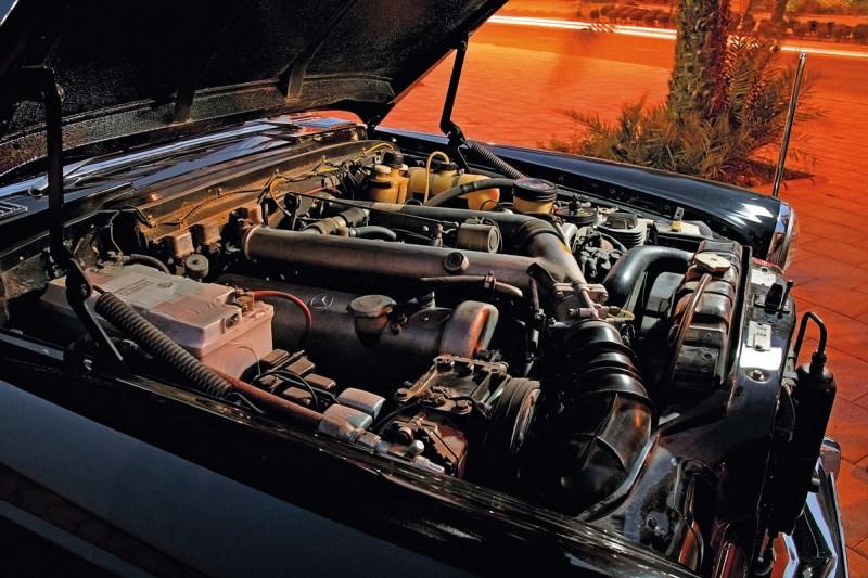 Motor des Mercedes-Benz 600 Pullman