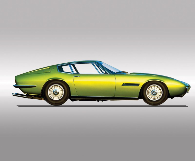 Maserati Ghibli im Profil
