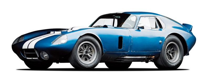 Shelby Cobra Daytona Coupé im Seitenprofil