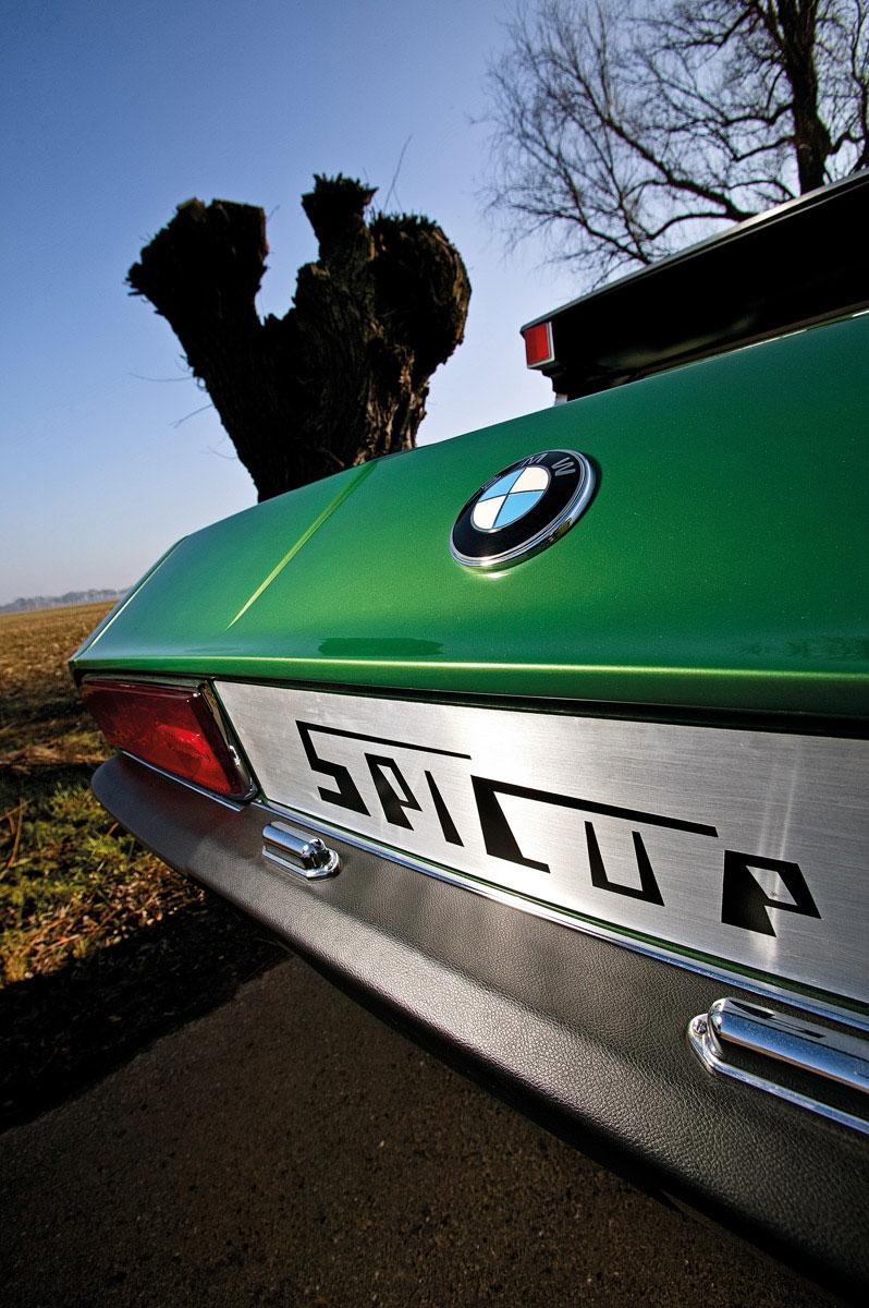 BMW Spicup-Schriftzug am Heck