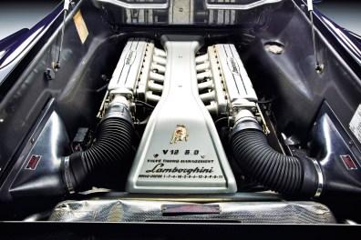 V12-Motor des Lamborghini Diablo