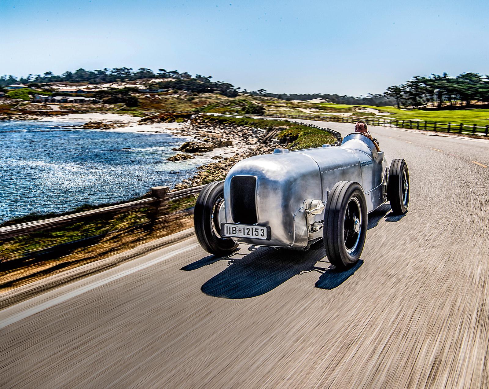 #43, Mercedes-Benz, Silberpfeil, SSKL, Koenig-Fachsenfeld, von Brauchitsch, AVUS