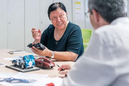 Shuxiao Jia, Gründerin und Inhaberin von CMC-Modelcars