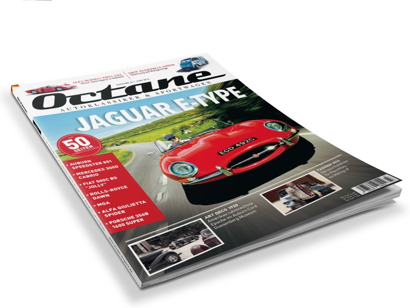 Octane, #23, Jaguar E-Type, London, Mercedes 300D Cabriolet, MGA, Porsche 356, Alfa Giulietta, Vergleich, Alfa Romeo, Fiat 500, Belvedere